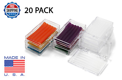 20 Pack Orthodontic WAX BRACES Irritation ASSORTED COLORS & SCENTS Dental