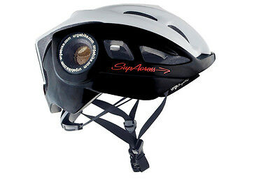 Urge Supacross XC MTB Crosscountry Helm -schwarz/weiß- L/XL 2014
