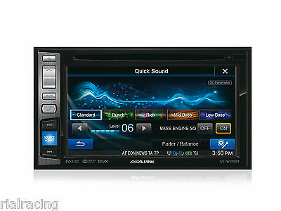 Auto-Radio Cd Usb Bluetooth Pantalla Alpine Monitor Dvd Divx Coche Ive-W585Bt