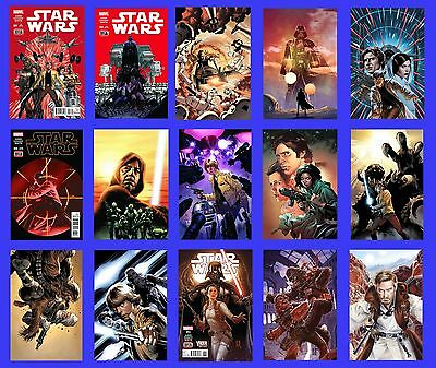 Star Wars #1 C 2 C 3 4 5 6 7 8 9 10 11 12 13 14 15 Set 2015 New Marvel Now Movie