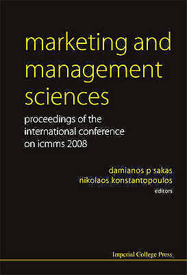 Marketing And Management Sciences - Proceedings Of The International Conference