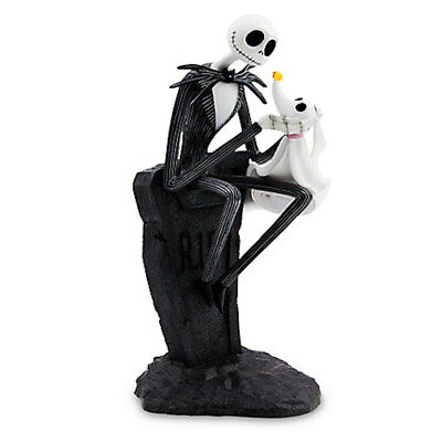 disney parks jack skellington nad zero light-up small resin figurine new w tags