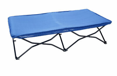 Cot Portable Foldable Toddler Kids Bed/Camping/Picnic/Beach/Outdoor/Travel Blue