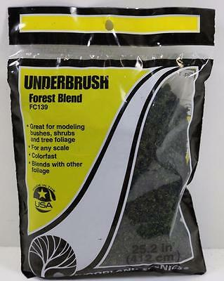 OO HO Scale Woodland Scenics Underbrush Forest Blend Green FC139 FNQHobbys