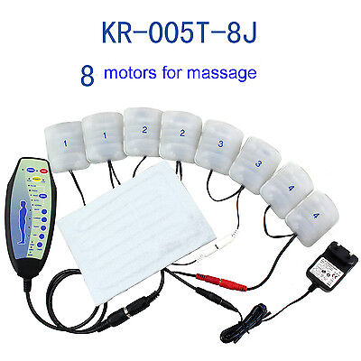 Electric Vibration massage machanise kit 8 motor with heating pad for sofa chair