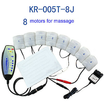 Electric Vibration massage machanism kit 8motors with heating pad for sofa chair