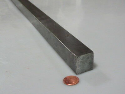 "12L14 Square Carbon Steel Bars, 1.0"" Square x 3 Ft Length"