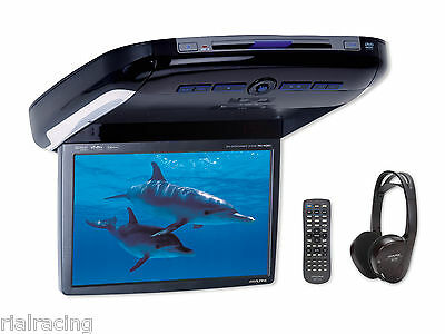 "Pantalla Monitor Techo Alpine Coche 10.2"" Dvd Cd Divx Mp3 Audio Video Pkg-2100P"