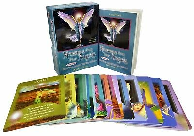 Messages from Your Angels Oracle Tarot Cards Deck Doreen Virtue Psychic Reading
