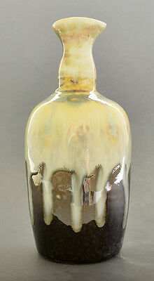 """Hand Made Color Glaze Pottery Vase 6"""" H x 3"""" W GMD-23"""