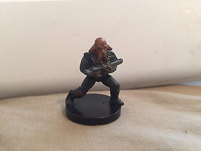 Star Wars Miniatures Bounty Hunters #45/60 Quarren Bounty Hunter- NC