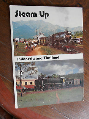 Steam Up Indonesia And Thailand Australian Published And Authors  Locomotive