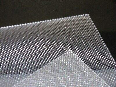 3 mm A3 Clear Prismatic Perspex Acrylic sheet 420 mm x 297 mm Light Difusers etc