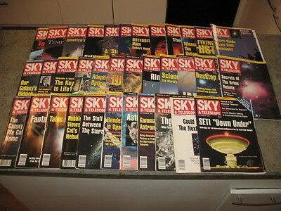 SKY AND TELESCOPE Magazine Issues from 1993-1995 Issues 35 total issues