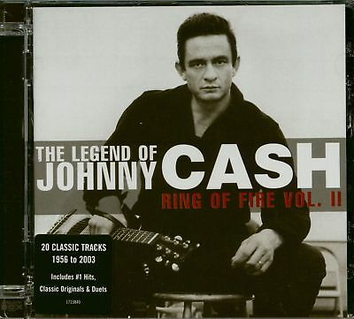 Johnny Cash - The Legend Of Johnny Cash - Ring Of Fire Vol.2 (CD) - Classic C...