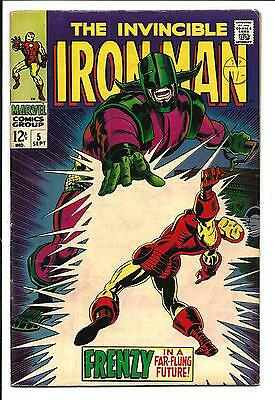 Iron Man # 5 (Sept 1968), Vf-