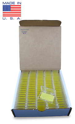 100 Pack Orthodontic WAX   BRACES Irritation YELLOW LEMON SCENTED Dental Relief
