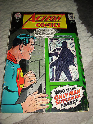 Action Comics #355 - DC Comics, 1967, Silver Age, Very Nice, Superman
