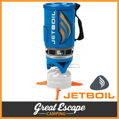 Jetboil Flash Portable Gas Stove Compact Lightweight Cooking Jet Boil Blue