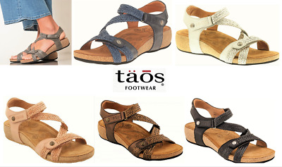 Sandals wedge comfort leather Taos Shoes Trulie - 5 colours