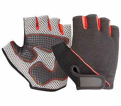 Weight Lifting Gloves Gym Exercise Fitness Padded Body Building Training Cycling