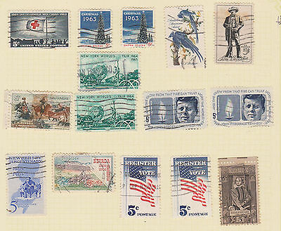 (USE48) 1963-4 USA 24mix of 5c stamps