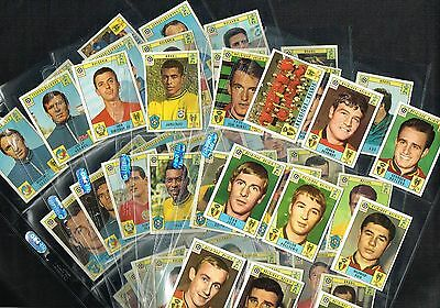 PANINI 'Mexico 70' (1970) World Cup Football Stickers List #1