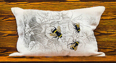 Bee - Lumbar Long Cushion Covers Pillow Cases Home Decor or Inner