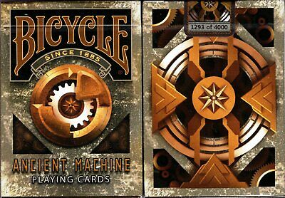 Ancient Machine Deck Bicycle Playing Cards Poker Size USPCC Collectable Limited