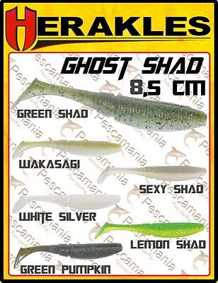 Artificiale spinning softbait Colmic Herakles Ghost Shad 8,5cm