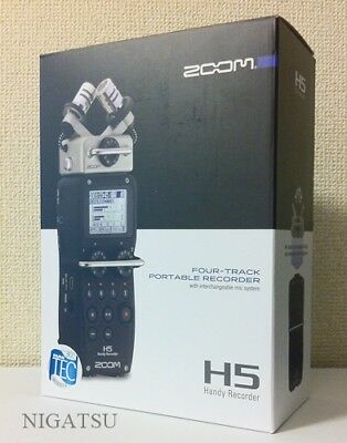 NEW Zoom H5 Portable Handheld Field Recorder Free Shipping JAPAN