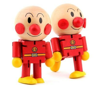 Anpanman Wooden Puppets Joint Model Doll Child Manikin Toy Sketch Draw Wood Toys