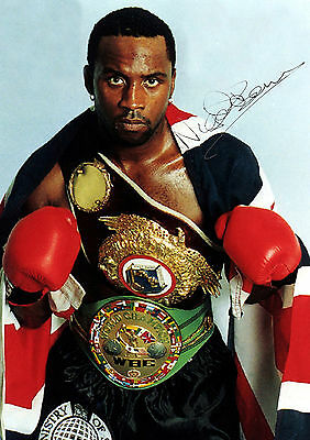 Nigel Benn 01 (Boxing) Signed Photo Print 01