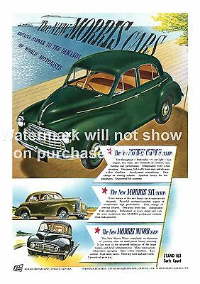 Wall art poster reproduction. Anglia Ford Motor Car Vintage advertising