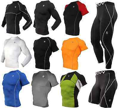 Men Workout Running Gym Fitness Under Tights Sports Clothes Heat Cold Armour