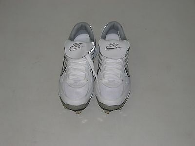 NEW Women's NIKE AIR ZOOM FASTPITCH CT Softball Metal Cleats White Various Sizes