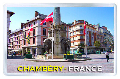 Chambéry France Fridge Magnet Souvenir Iman Nevera