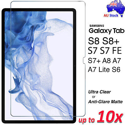 Premium Screen Protector for Samsung Galaxy Tab S6 10.5 A 8.0 10.1 2019 S5e S4