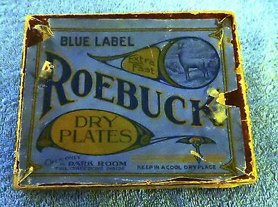 Antique Blue Label Dry Plate Glass Negatives 4 X 5 Early 20Th Century Americana.