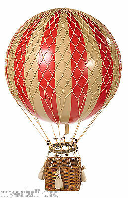 Jules Verne Balloon, True Red by Authentic Models AP168R