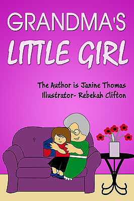 Personalised Childrens Book (GRANDMA'S LITTLE GIRL)