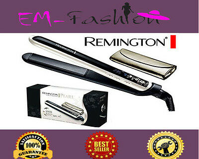 New Remington S9500 Pearl Hair Straightener Ceramic Plates Lcd Dsiplay