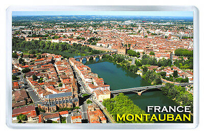 Montauban France Mod2 Fridge Magnet Souvenir Iman Nevera