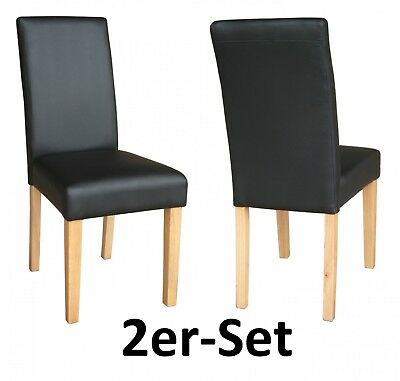 2er set st hle g nstig esszimmer esszimmerst hle schwarz mocca creme eur 149 00 picclick de. Black Bedroom Furniture Sets. Home Design Ideas