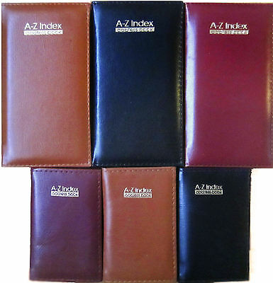 A-Z Index Address Book Executive Pocket Index Home Office Telephone Index Book