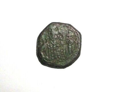 Ancient Byzantine Empire, Bronze Tetarteron Coin