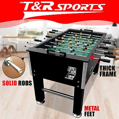 2017 New Model 5FT Soccer Foosball Table Heavy Duty Pub Size 4 Drink Holders AU