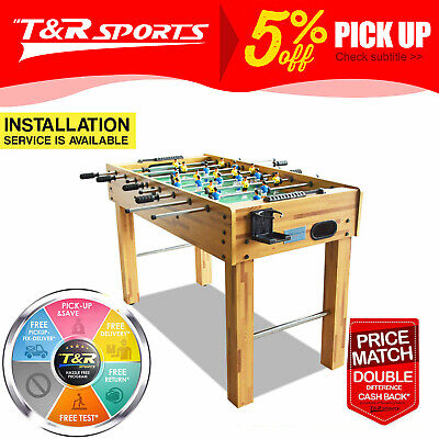 Heavy Duty 5Ft Soccer/foosball Table White Frame Free Syd Mel Bne Metro Delivery