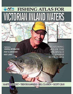 AFN Fishing Atlas for Victorian Inland Waters, Fishing Books, Fishing Guide Vic
