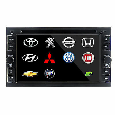 """Double 2 Din 7"""" In Dash Car Radio CD MP3 Player Touch Screen Stereo Radio AU"""